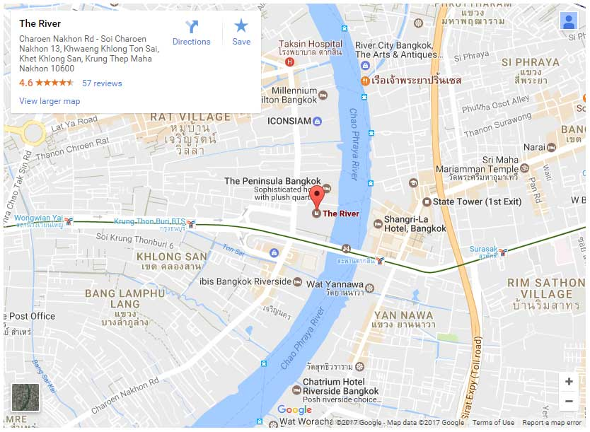 The-River-Condo-Bangkok-map
